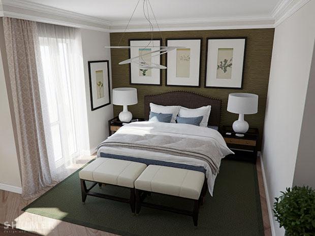 ออกแบบห้องนอน 3D