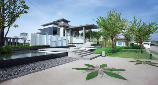ตัวอย่างภาพ บ้านมัณฑนา Land and House
