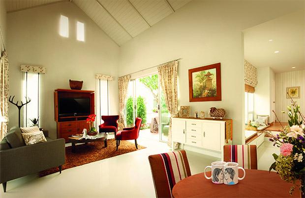บ้านสวยๆ สไตล์ English Cottage จากวังทอง