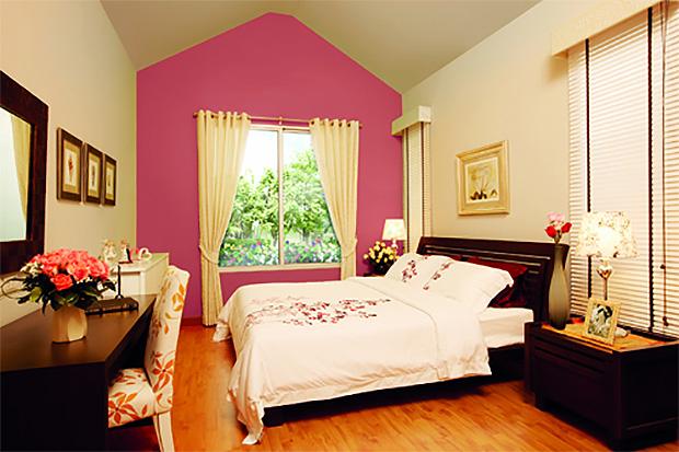 ห้องนอนสไตล์ English Cottage