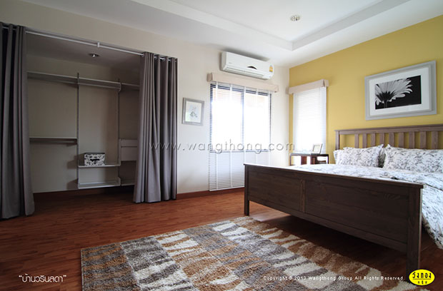 ห้องนอนตัวอย่าง บ้านวรินลดา