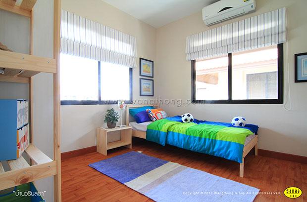 ห้องนอนเล็ก ชั้นแรก สำหรับเด็ก ผู้สูงอายุ