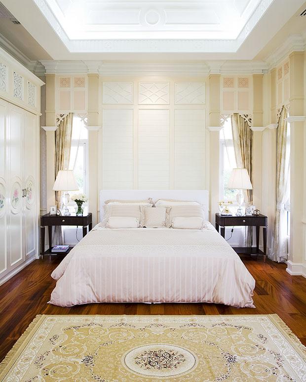 แบบห้องนอน สไตล์โคโลเนียล ย้อนยุค
