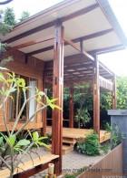 ออกแบบบ้านไม้ ทำจากไม้สัก