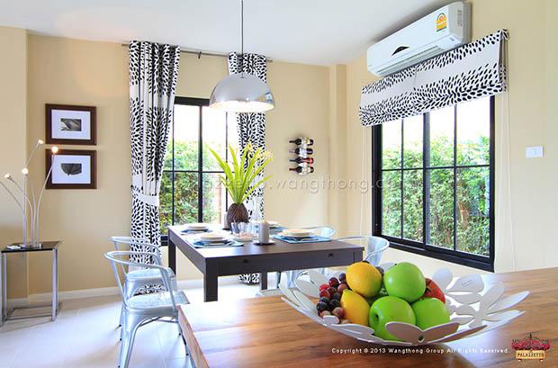 แบบห้องครัว บ้านทาวน์เฮ้าส์ 2 ชั้น