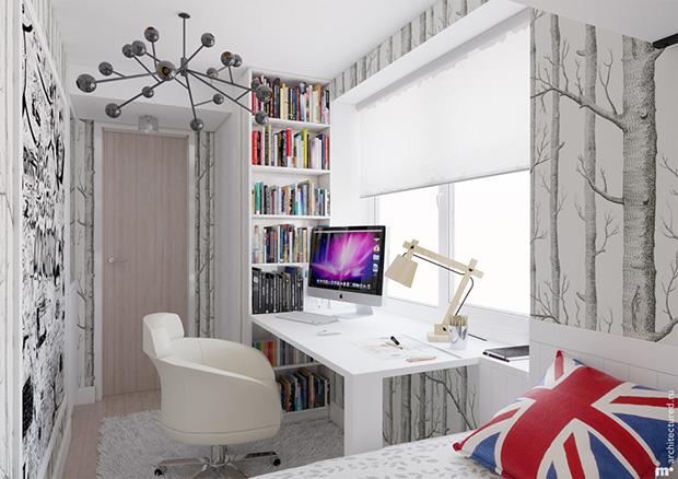 จัดห้องทำงาน ขนาดเล็ก พื้นที่แคบมาก