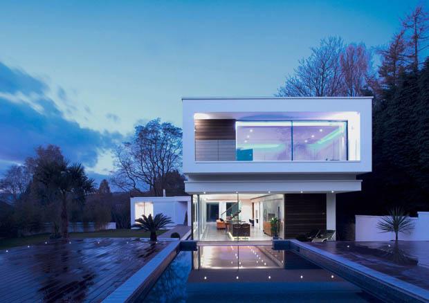 แบบบ้านสีขาว