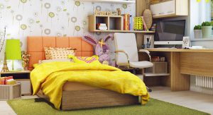 ห้องนอนสีสด