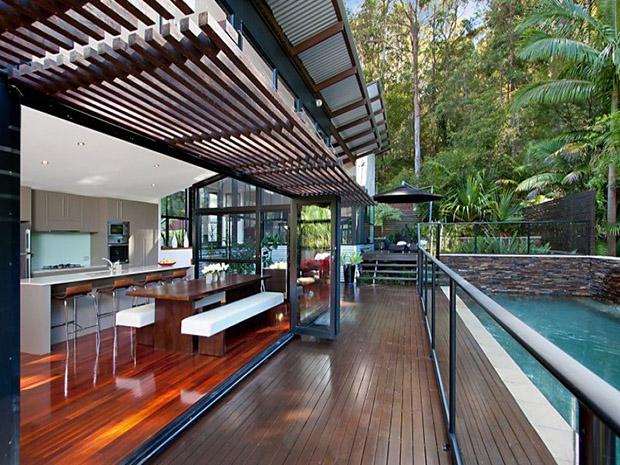 14 ไอเดียจัดสวนหลังบ้าน Amp มุมนั่งเล่น บ้านไอเดีย