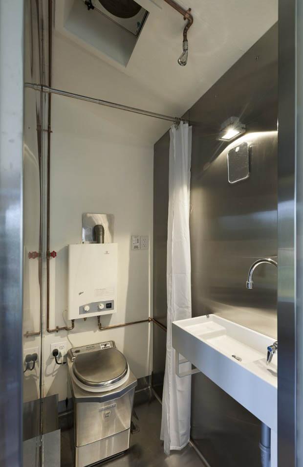ห้องน้ำขนาดเล็ก