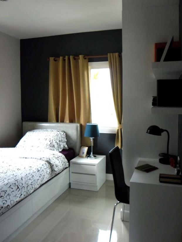 ห้องตัวอย่าง ห้องนอนขนาดเล็ก