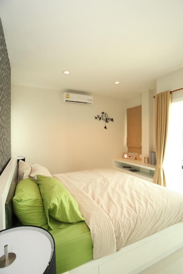 ห้องนอนตัวอย่าง โครงการ The Urbana เชียงใหม่