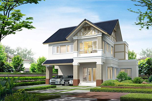 บ้านตัวอย่าง Laddarom Q House