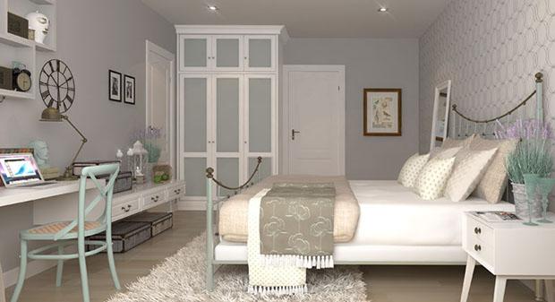 ห้องนอนตัวอย่าง Villaggio บางนา