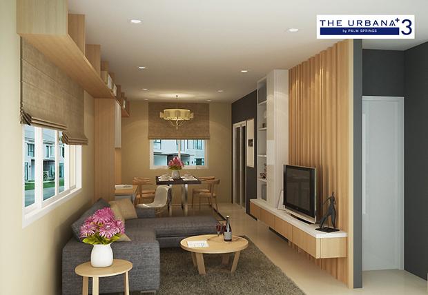 ตัวอย่างบ้าน The Urbana เชียงใหม่
