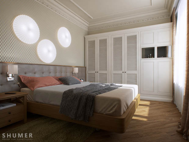 ห้องนอนเล็กน่ารัก