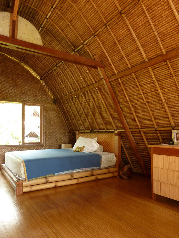 Eco house for Small house design made of bamboo