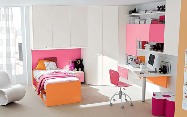 Cute Bedroom Interior Design