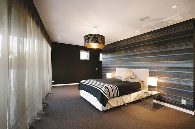 ห้องนอนสีเข้ม