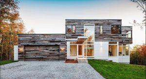 บ้านผนังไม้