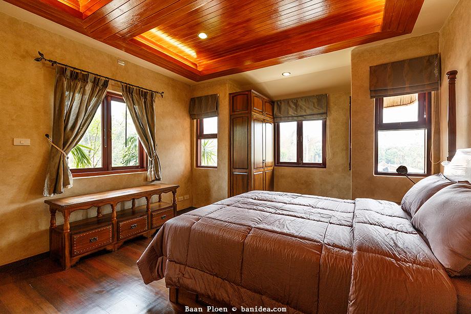 ห้องนอนตัวอย่าง บ้านเพลิน ชัยพฤกษ์ เชียงใหม่