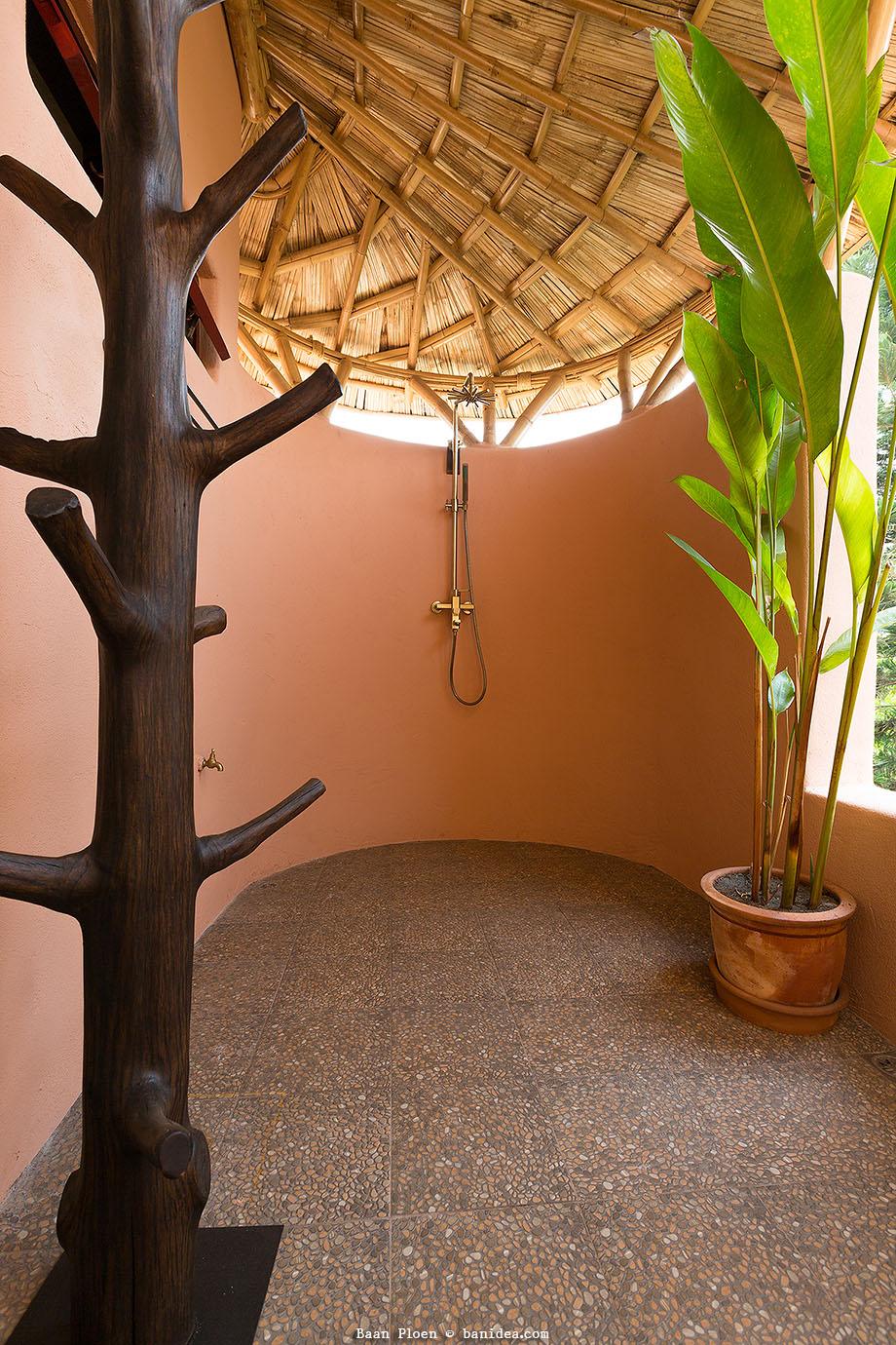 ห้องอาบน้ำแบบ Open Air เปิดโล่ง