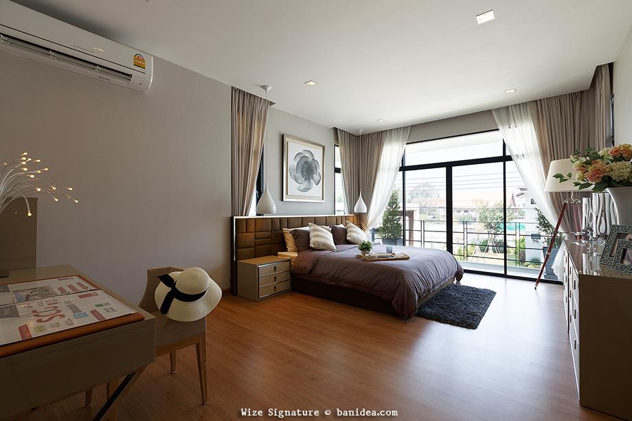 แบบห้องนอน Master Bedroom