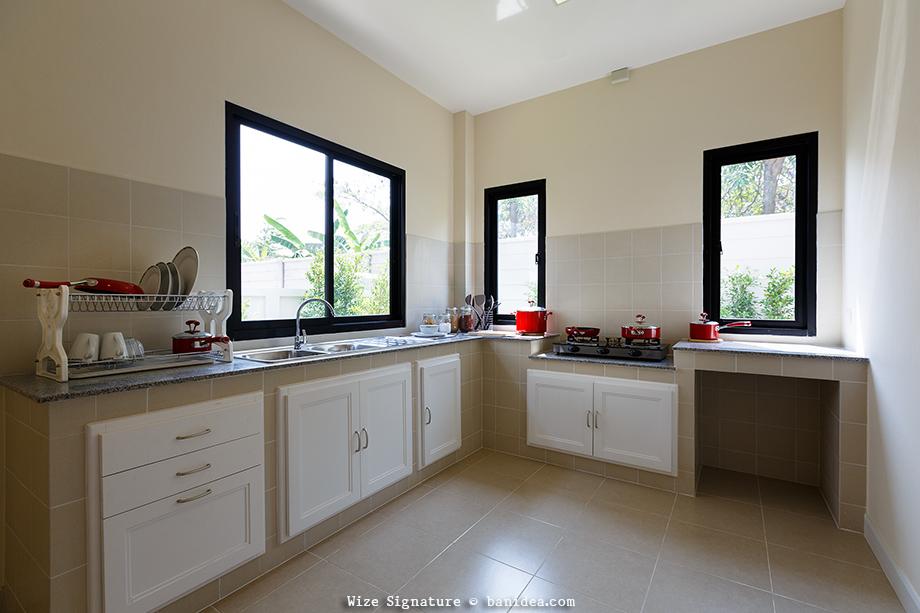 ห้องครัวไทย ทำอาหารที่มีกลิ่นฉุน