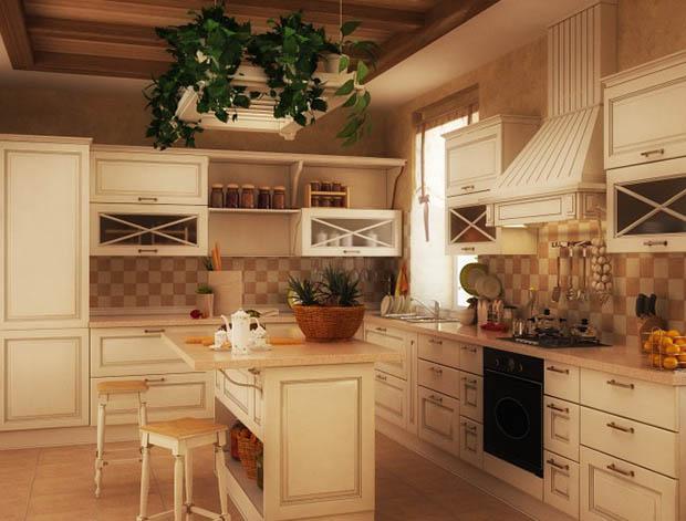 ไอเดียตกแต่งห้องครัวสีขาว