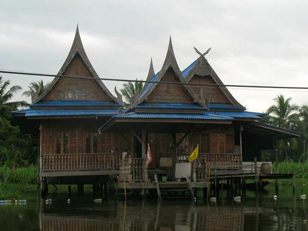 หลังคาบ้าน ทรงไทย หลังคาเรือนไทย