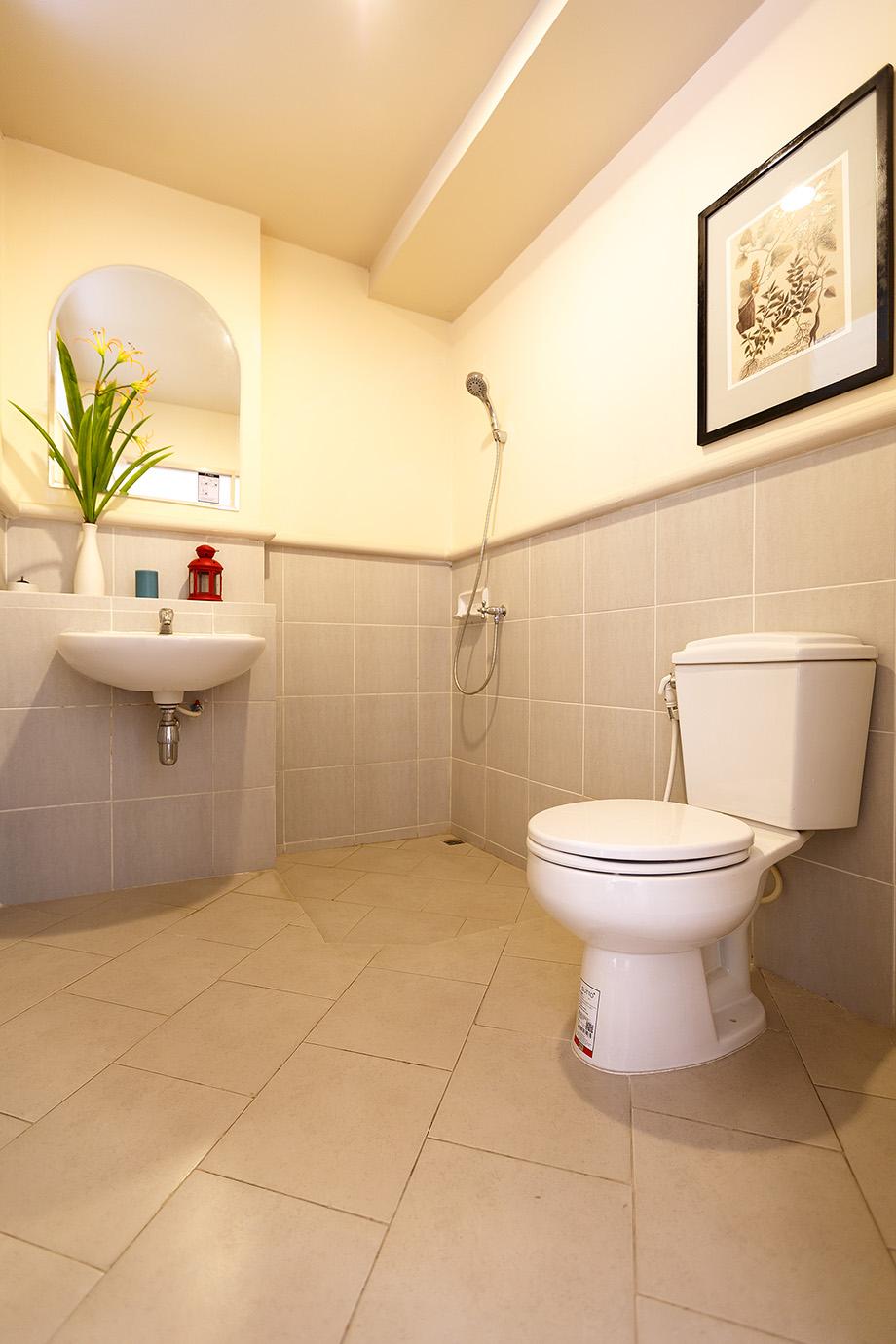 ไอเดียตกแต่งห้องน้ำ บ้านทาวน์เฮ้าส์ สองชั้น
