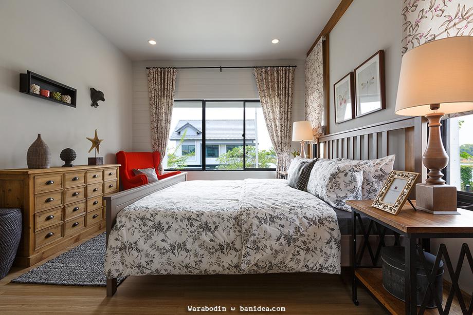 ห้องนอนใหญ่ มุมมองสู่ภายนอก โปร่งสบาย