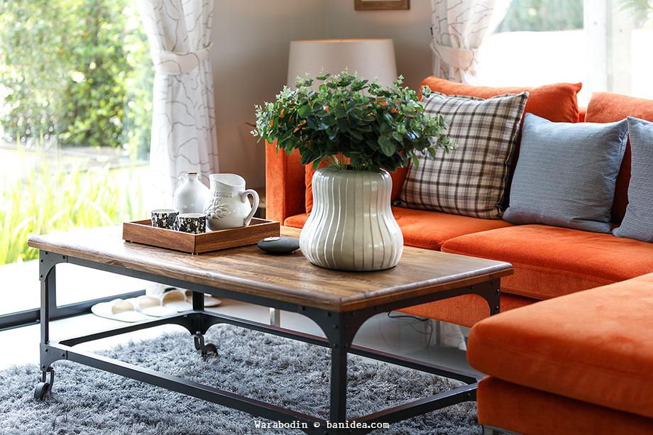 โต๊ะไม้ DIY จากของเก่า