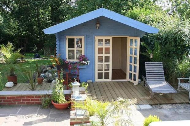 สร้างบ้านในสวน