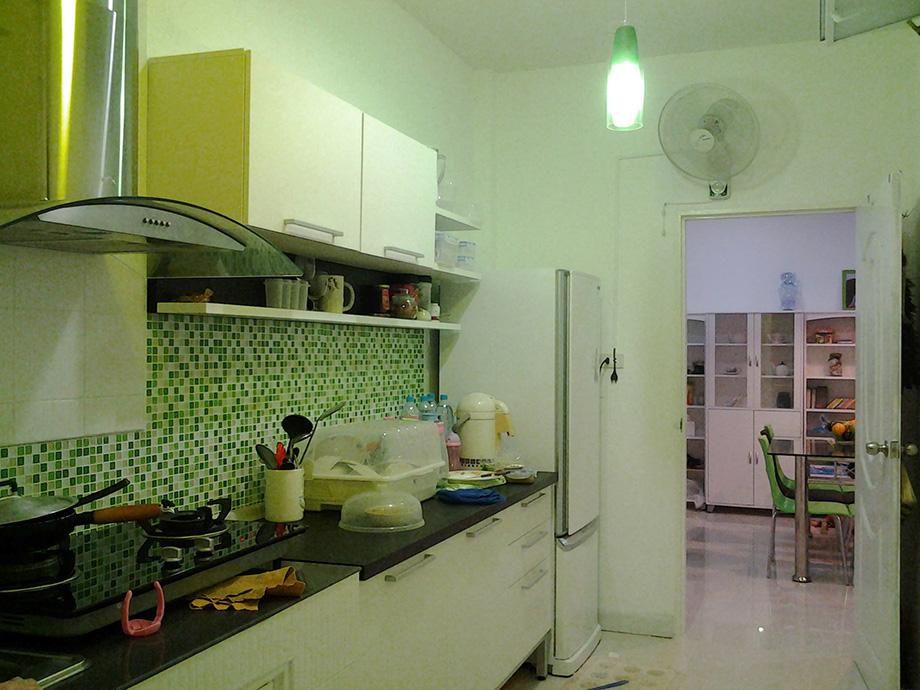 รีวิวตกแต่งห้องครัว