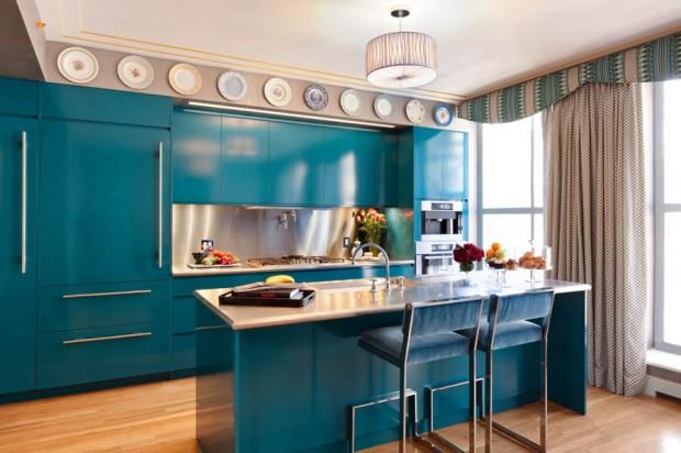 ตกแต่งห้องครัวด้วยสีสัน