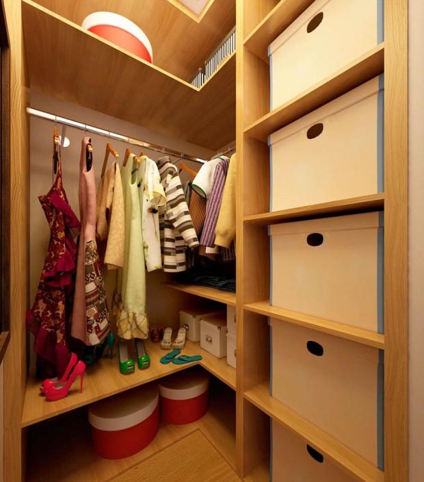 ตู้เสื้อผ้าในคอนโด