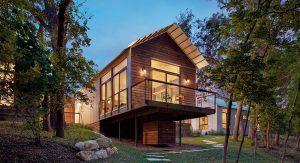 บ้านไม้สมัยใหม่