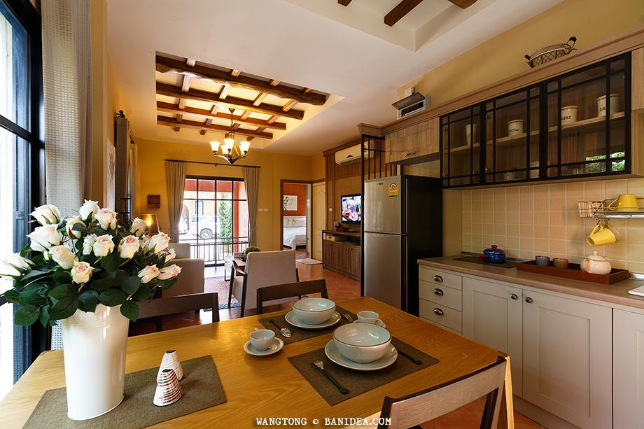 ห้องครัว สไตล์ Tuscany Country