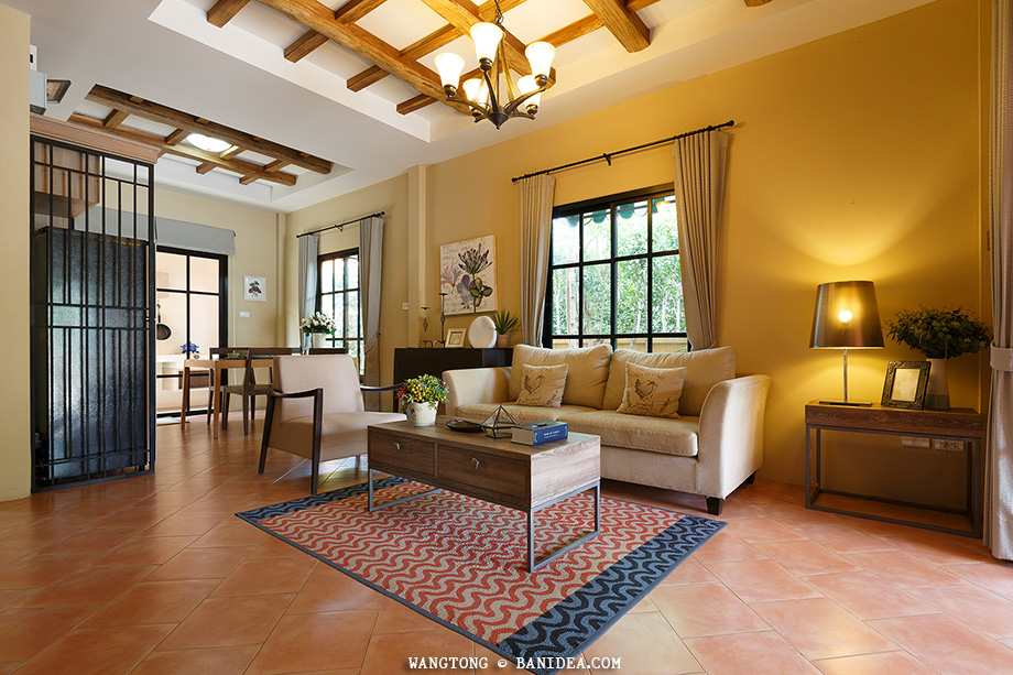 The Palazzetto ตกแต่งสไตล์ Tuscany Country