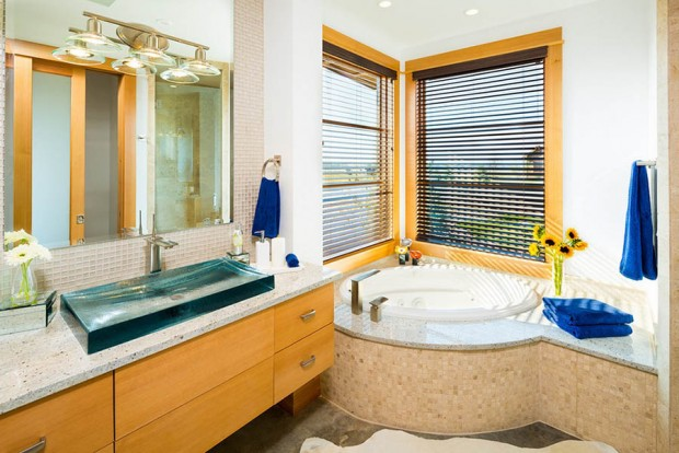 หน้าต่างในห้องน้ำ