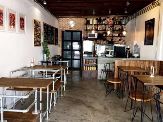 รีโนเวทห้องแถว ทำร้านกาแฟ