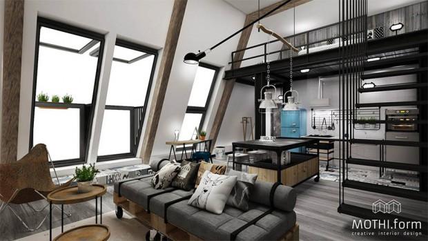 ตกแต่งห้องสวย ด้วยสไตล์ Loft 171 บ้านไอเดีย เว็บไซต์เพื่อบ้านคุณ
