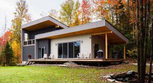 ออกแบบบ้านสองชั้นสไตล์โมเดิร์น