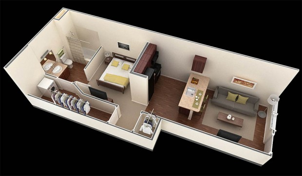 25 for 6x6 room design