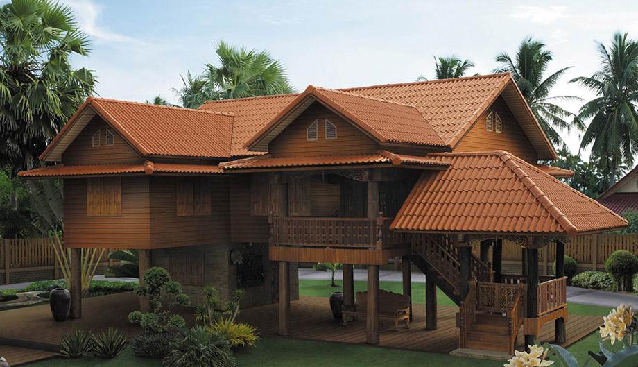 หลังคาบ้านไทย