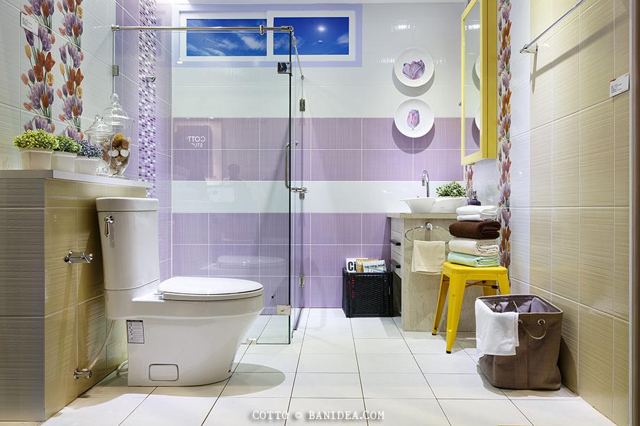 แบบห้องน้ำ ชุดสุขภัณฑ์ กระเบื้อง COTTO