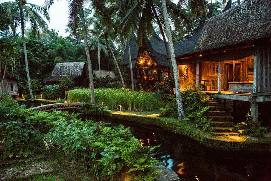 Bali Nature Waterfalls Interior Design