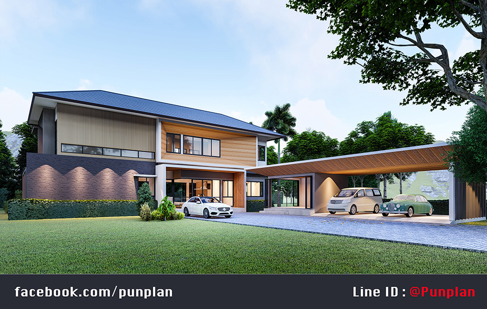 สถาปนิก ออกแบบบ้านสวย