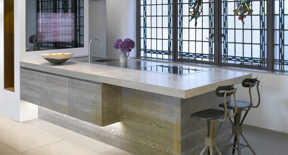 11 for Polished concrete kitchen countertops